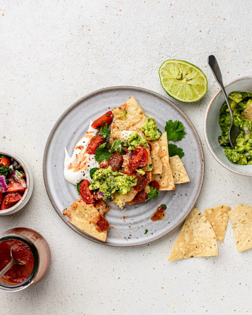 Chilaquiles_nachos_recipe_toritllachips_guacamole_salsa_sourcream